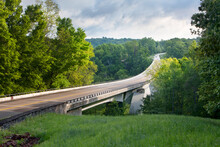 Double Arch Bridge, Natchez Trace Parkway, Tennessee And Mississippi, USA