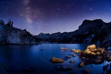 Dingleberry Lake, John Muir Wilderness, Sierra Nevada Mountains