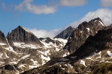 The Magical Landscape Of The Wind River Range In Wyoming.
