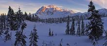 Mt. Shuksan, Snoqualmie National Forest, Washington State, USA