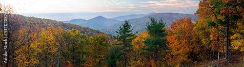 Fotografia Skyline Drive Shenandoah National Park, Virginia, USA
