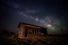 The Vanishing Dark Skies. A Remote Location On The Colorado Plains Where The Skies Are Almost As Dark As You Can Find Near Civilization.