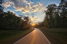 Natchez Trace Parkway, Tennessee And Mississippi, USA