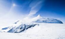 Highest Point In Antarctica, Vinson Massif.