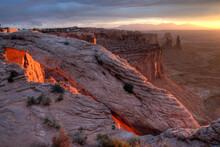 Canyonlands National Park: Sunrise At Mesa Arch