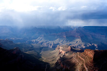 A Storm Heads Into Grand Canyon National Park In July.