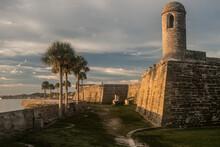 St, Augustine, FL: Castillo National Monument During Sunrise