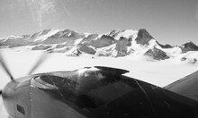 View Of The Ellsworth Mountains In The Sentinel Range Of Antarctica As Seen From The Air.