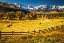 A Ranch In Fall Near Ridgway, Colorado.