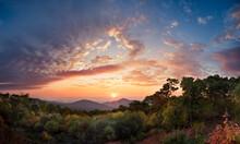 Sunrise, Skyline Drive, Shenandoah National Park. Virginia