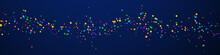 Festive Eminent Confetti. Celebration Stars. Brigh