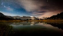 Mudd Lake, John Muir Wilderness, Sierra Nevada Mountains, California