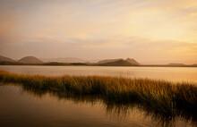 Lake View In Kenya, Africa