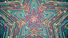 Colorful Festive Star