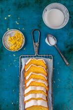 Lemon Pound Cake With Icing
