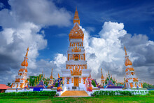 Wat Phra That Phon Sawan Temple At Phonsawan District Nakhonphanom Province,Thailand.
