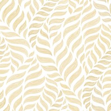Seamless Abstract White And  Gold  Background