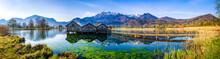 Landscape At The Lake Kochel - Bavaria