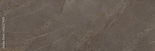 Fotografie, Obraz Dark Marble Texture and Background. Ceramic Tiles Design.