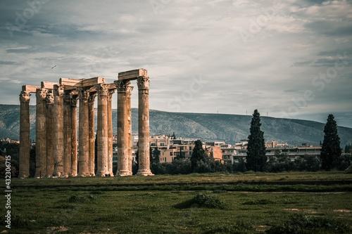 Fototapeta ruins of roman forum