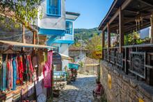 The Sirince Village Street.view. Sirince Village Is Populer Tourist Destination In Turkey.