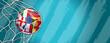 Leinwandbild Motiv Fussball 2020 / 2021