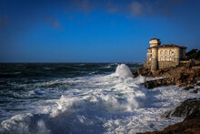 Il Castello Del Boccale A Calafuria (LI)