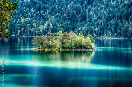 Foto Eibsee Garmisch Partenkirchen