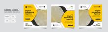 Digital Marketing Agency Social Media Post Template Set