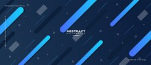 Abstract Geometric Shapes Composition Banner_10