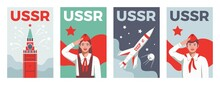 Soviets Vertical Posters Set