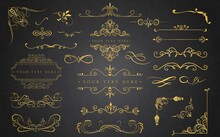 Golden Ornament Collection