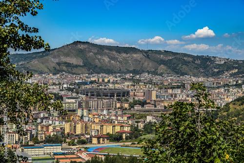 Fototapeta Panorama Napoli Naples Landscape