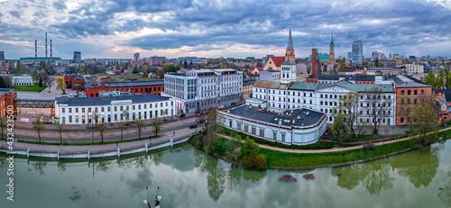 Fotografia, Obraz Biała Fabryka, Łódź, Polska.