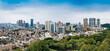 Cityscape of Zhongshan City, Guangdong Province, China