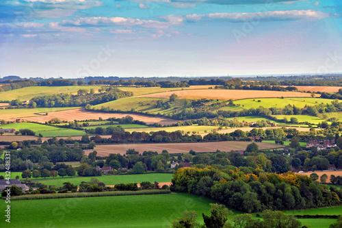 Obraz na płótnie South Downs Beacon Hill Hampshire England