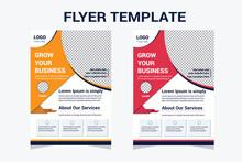 Modern Creative Simple Business Flyer Template Design