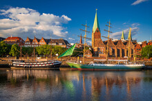 Historic Town Of Bremen, Germany