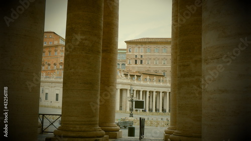 Foto Colonnades in Vatican City, Rome