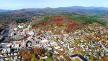 Montpelier, Drone View, Downtown, Amazing Landscape, Vermont