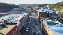 Montpelier, Drone View, Vermont, Amazing Landscape, Downtown