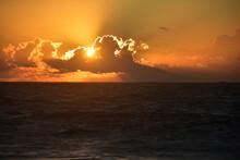 Antiguan Sunset At Fort James