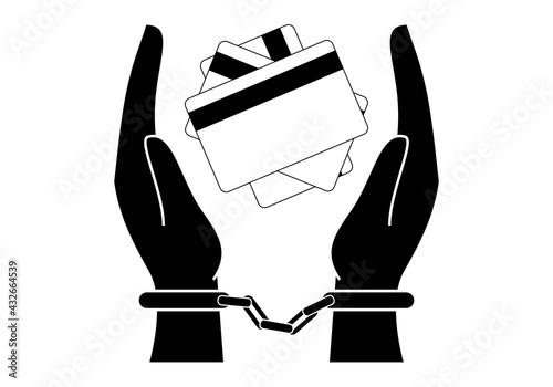 Papel de parede Esclavos de las tarjetas de crédito
