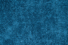 Abstract Macro Blue Vintage Fabric Texture Background