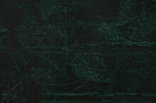 Closeup Shot Of A Textured Dark Green Background For Wallpapers