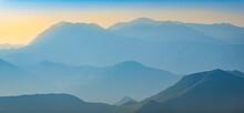 Kotor Bay Mountains In Montenegro