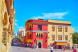 Leinwandbild Motiv Triumph Square of Cordoba, Spain