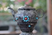 Old Traditional Copper Samovar