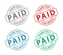 Paid Stamp Icon