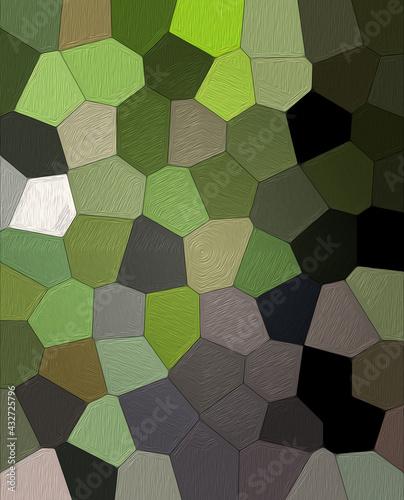 Kompozycja abstrakcja wielokolorowe pola z teksturą